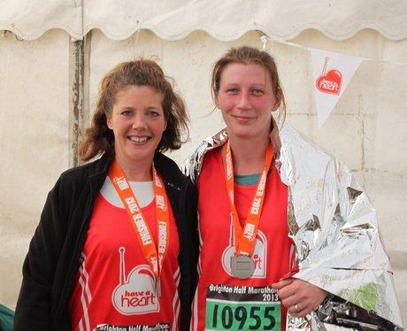 brighton half marathon runners