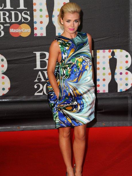 Katherine Jenkins at the BRIT Awards 2013