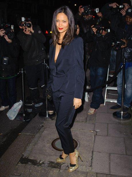 Thandie Newton London Fashion Week 2013