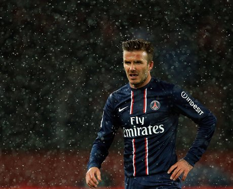 David Beckham Paris Saint-Germain debut