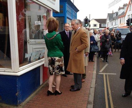 Braunton royal visit