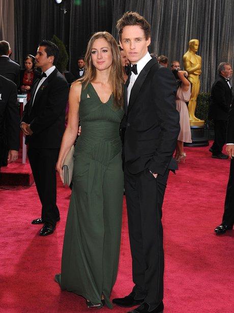 Eddie Redmayne and Hannah Bagshawe at the Oscars 2