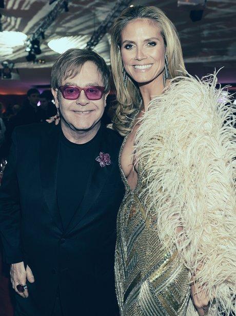 Heidi Klum Elton John AIDS Foundation Oscars Party