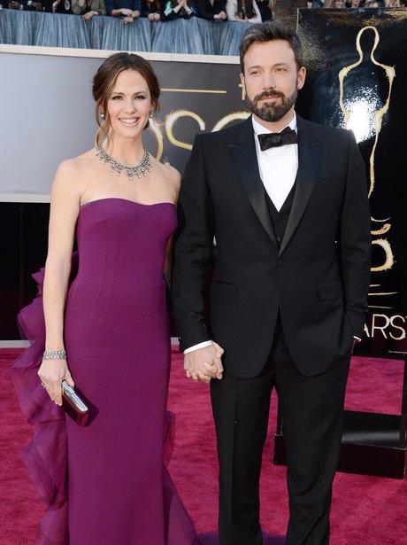 Jennifer Garner and Ben Affleck at the Oscars 2013
