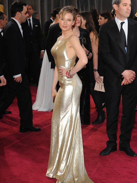 Renee Zellweger at the Oscars 2013 arrivals
