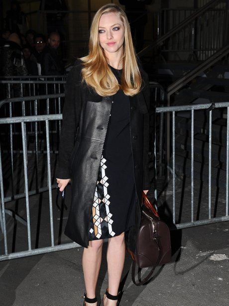 Amanda Seyfried Paris Fashion Week 2013