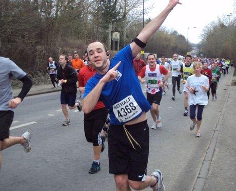 Bath Half Marathon 2013