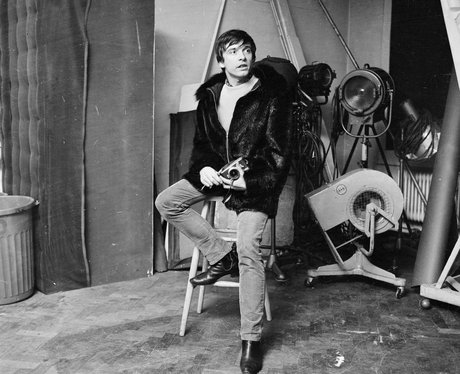 David Bailey and camera