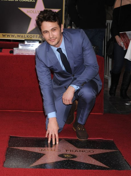 James Franco on The Hollywood Walk of Fame