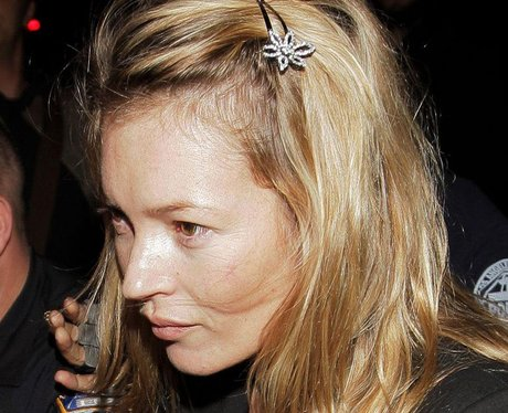 Kate Moss without make up