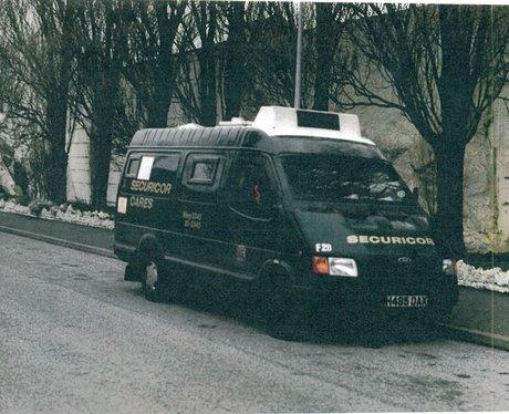 Maher Securicor Van 1993