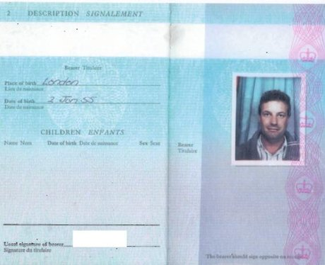 Maher's False Passport Under Name Stephen King