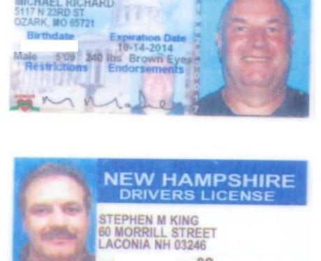 Maher's False US Driving Licences