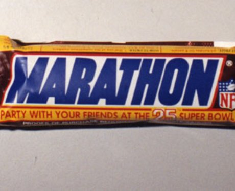 Marathon chocolate bar