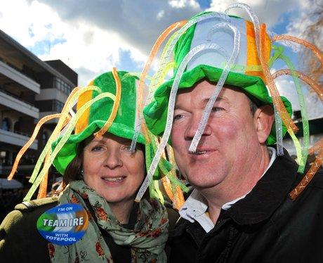 St. Patrick's Thursday at Cheltenham