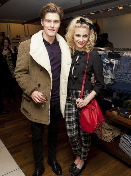 Pixie Lott and Oliver Cheshire 2013