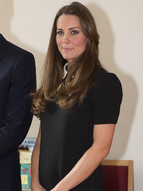 Kate Middleton visits Child Bereavement UK offices
