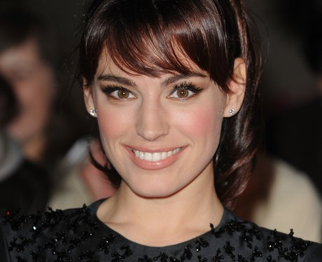 Kelly Brook with a fringe