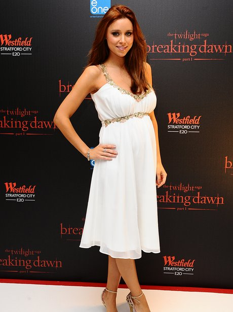 una healy in white dress