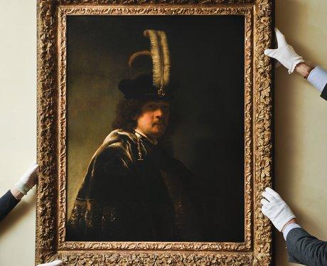 Rembrandt's self portrait