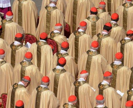 Inaugral mass at the Vatican