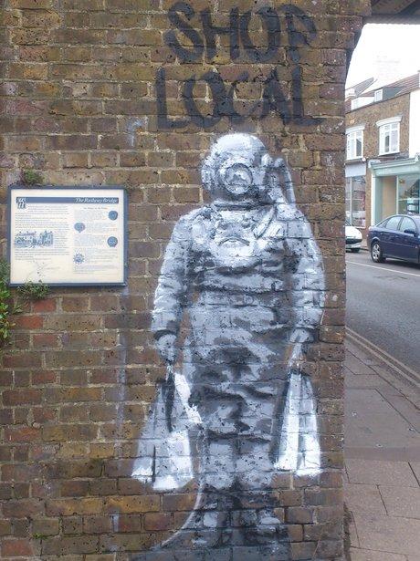 Whitstable Banksy Graffiti