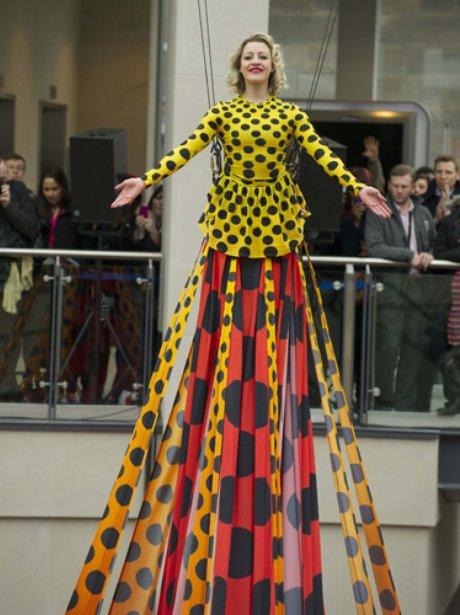 Worlds longest dress