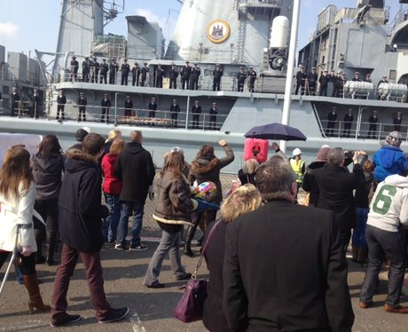 HMS Edinburgh homecoming