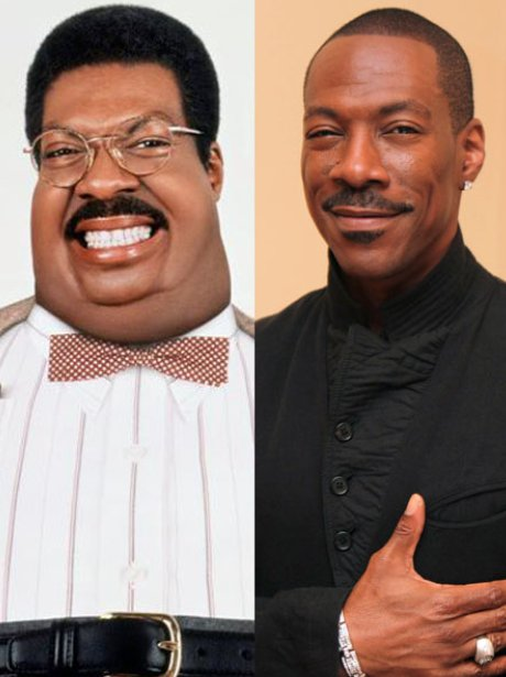 Eddy Murphy as the Nutty Professor