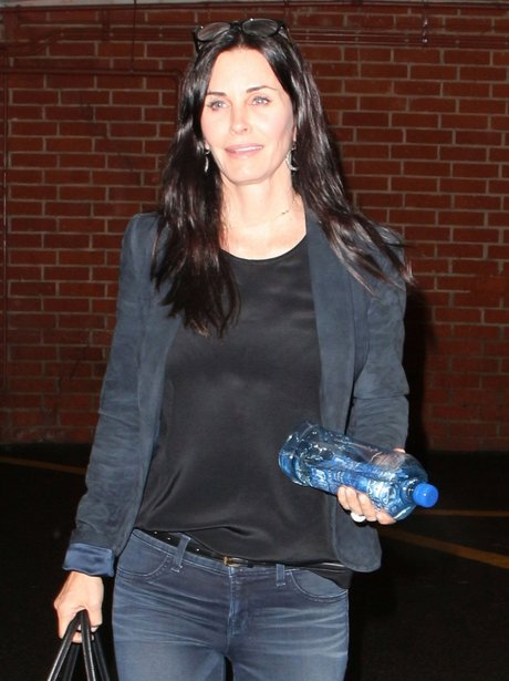 Courtney Cox wearing no makeup