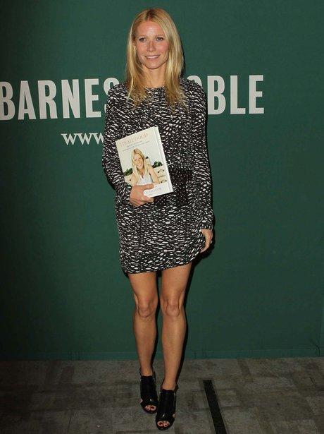 Gwyneth Paltrow book signing April 2013