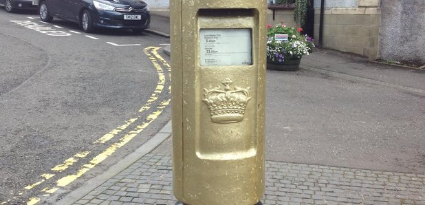Andy Murray's gold postbox knocked down by car in hometown