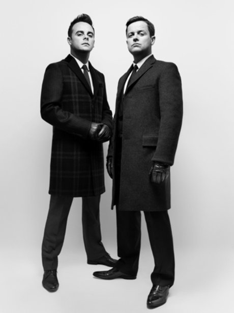 Ant and Dec Hunger Magazine