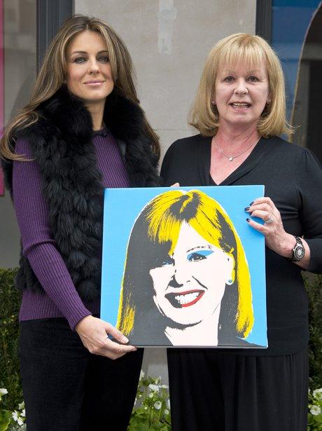 Liz Hurley Celebrates 20 Years Of Jo Hansford Beau