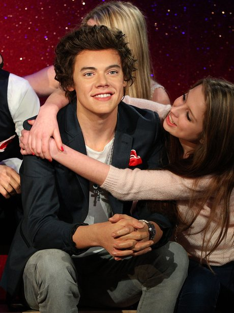 Harry Styles waxwork in Madame Tussauds London