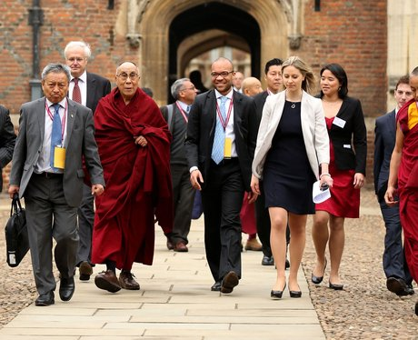 The Dalai Lama In Cambridge
