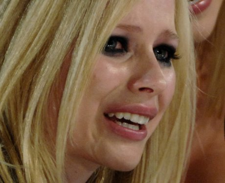 Image result for avril crying 2007