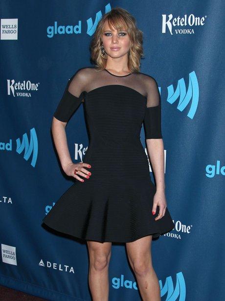 Jennifer Lawrence attends award ceremony