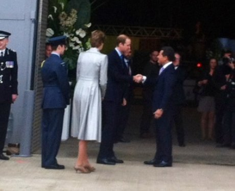 Kate, William & Harry At Hogwarts