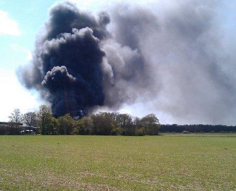 Matching Airfield Fire