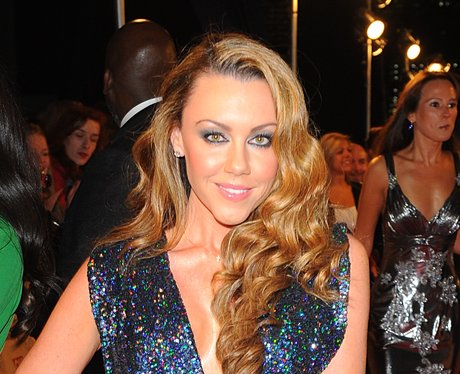 michelle heaton on the red carpet