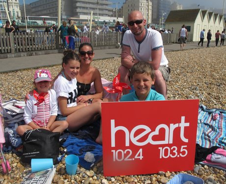 Bank Holiday in Sunny Brighton