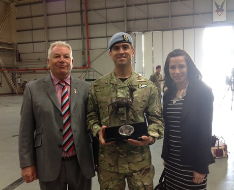 Soldier receives award at Wattisham