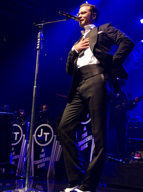 Justin Timberlake performs at the MasterCard Price