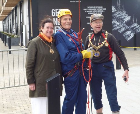 Mayor of Medway Charity Abseiling!