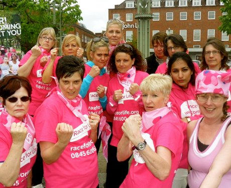 Race for Life Launch Welwyn