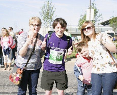 Smiles at MK Marathon