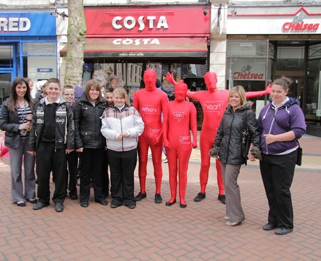 Who's on Heart Morph suit Tour of Birmingham