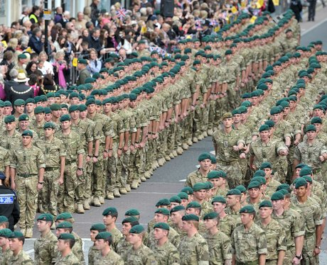 40 Commando Homecoming Parade 2013
