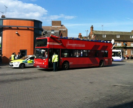 Bus Crash in Chelmsford